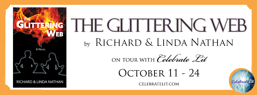 The Glittering Web FB Banner