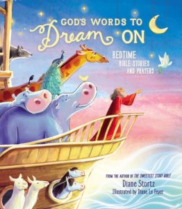 Book Cover: God's Words to Dream On, Bedtime Bible Stories and Prayers