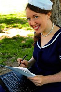Rebekah Jones, Author